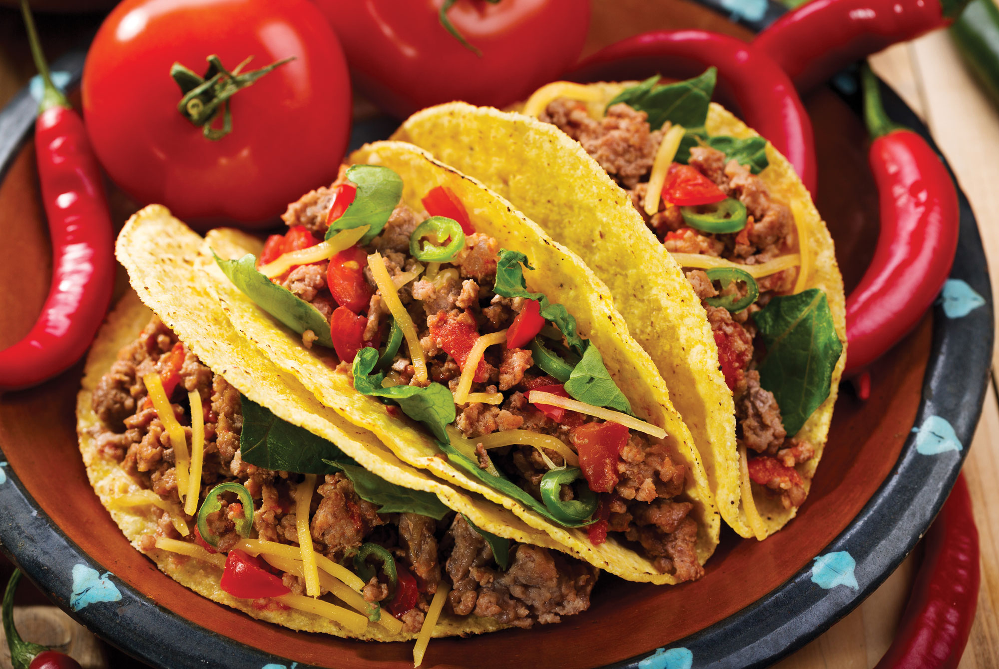 Mexico Food Tacos Recipe